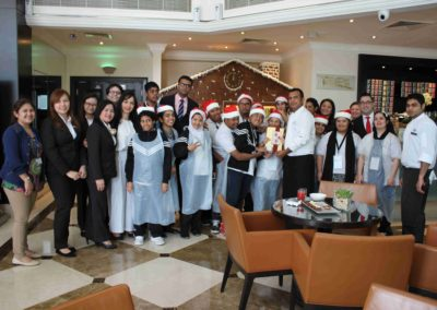 Gingerbread Decorating Activity by Towers Rotana – December 2017