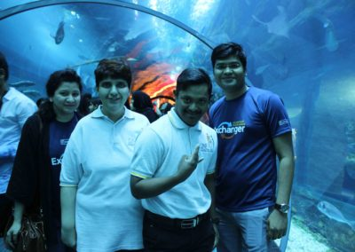Dubai Aquarium Visit by Emirates NBD – Sept 2017